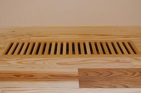 木製床下ガラリ